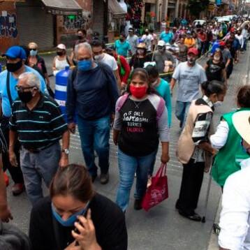 Coronavirus: México reporta 10 mil 794 casos en las últimas 24 horas
