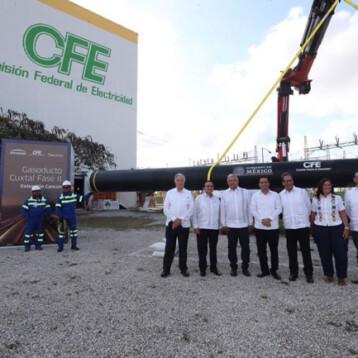 Anuncian construcción de planta eléctrica en Valladolid