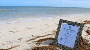 """Yucatán, único en el país con siete Certificados """"Playa Platino"""""""