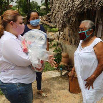 A través de Yucatán Solidario, empresas continúan apoyando a las familias yucatecas