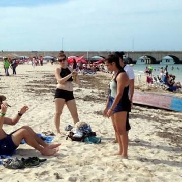 Costas de Yucatán, atractivas para el turismo extranjero de invierno