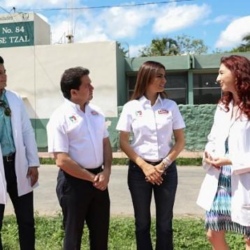 Garantizarle a las familias yucatecas atención médica las 24 horas: Sahuí