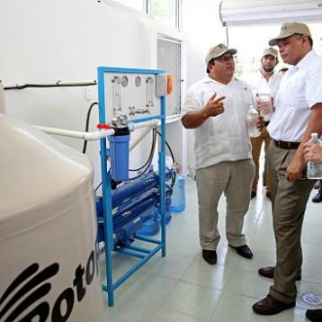 Garantizan abastecimiento de agua potable en Yucatán