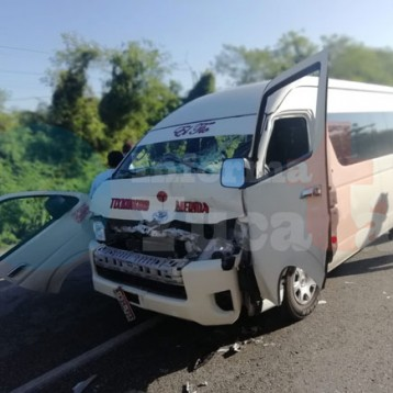 Accidente en la Mérida -Tixpéhual deja seis lesionados
