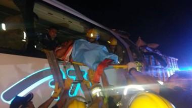Trágico accidente en la Mérida-Campeche, deja 3 muertos y varios lesionados