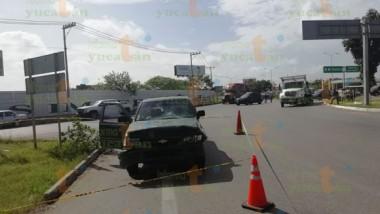 Muere joven accidentada en la Mérida-Cancún