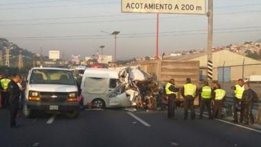 Reportan 12 muertos tras accidente en la México-Pachuca (video)