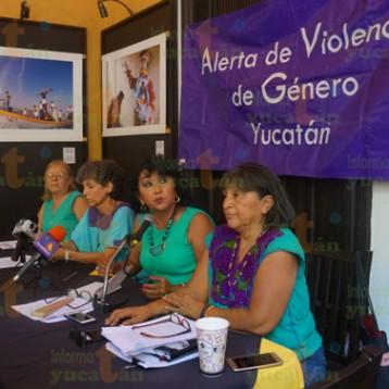 """Temen retroceso por """"salvar"""" a Yucatán de la Alerta de Violencia de Género"""
