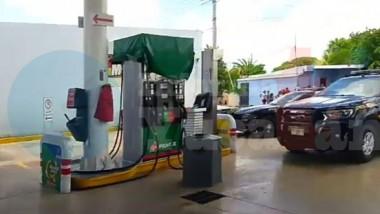 Apuñalan a despachador de gasolina en Megasur
