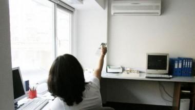 ¿El aire acondicionado puede afectar la productividad laboral?