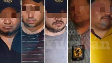 Yucateco lidera banda que baleó a policía de la SSP