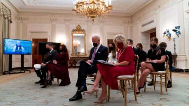 Pruebas diagnósticas, cubrebocas y distancia: Así son las medidas en la Casa Blanca con Biden