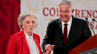 "'Mañaneras' de AMLO han provocado ""hartazgo nacional"", critica Elena Poniatowska"