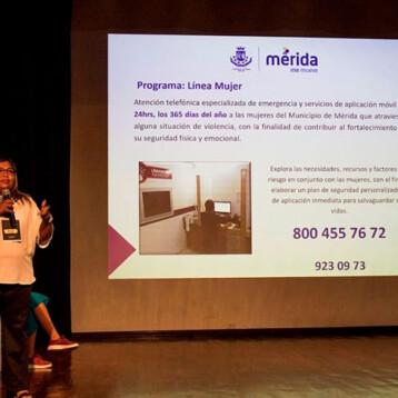 'Línea Mujer' para denunciar violencia en Mérida