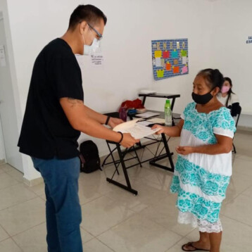 Llevan servicios médicos especializados a comisarías de Tinum
