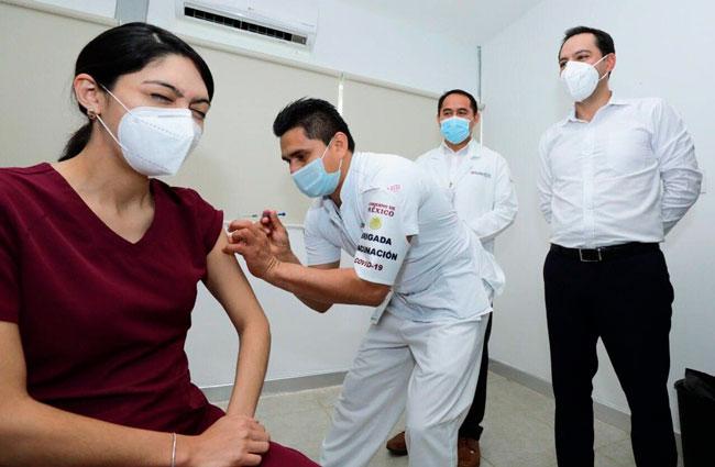Recibirá Yucatán menos vacunas anticovid