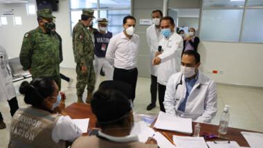 Gobierno de Yucatán se deslinda de vacunación anticovid