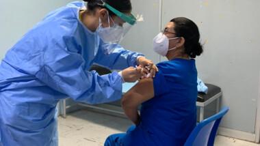 Blindan al personal médico del coronavirus