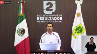 """""""Hay quienes solo intentan obstruir los cambios que requiere Yucatán"""":  Vila"""