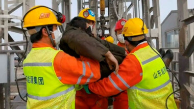 Hallados muertos nueve de los mineros aún atrapados en China