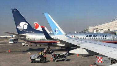 Covid-19 corta alas a aerolíneas mexicanas; Interjet se queda con sólo 6 aviones