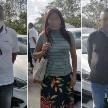 Colombianos estafan a yucateca cuando salía del banco