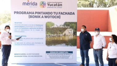 Pintarán fachadas de viviendas afectadas por las intensas lluvias
