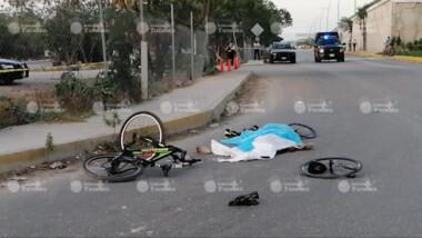 Ciclista muere arrollado en Periférico