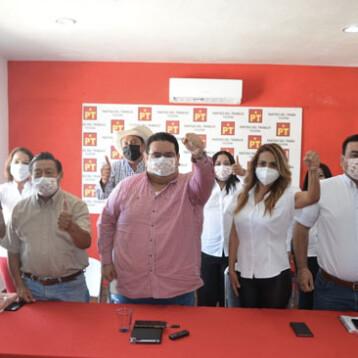 Se 'fractura' la 4T en Yucatán, el PT se queda sin aliado político
