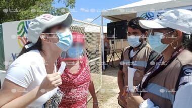 Piden a meridanos respetar vacunas para adultos mayores de Umán