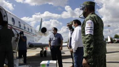 Llegaron más vacunas anticovid a Yucatán