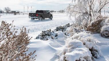 Texas registra la mayor nevada de su historia