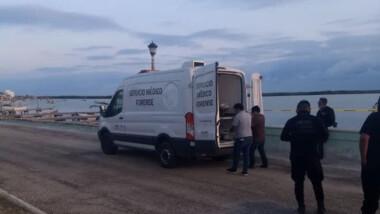 Sexagenario se ahoga en el Malecón de Rio Lagartos