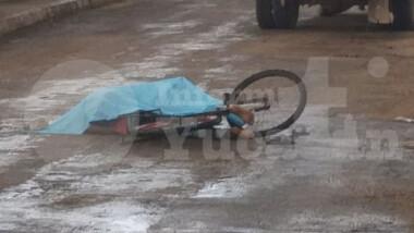 Tizimín: Ciclista muere atropellado