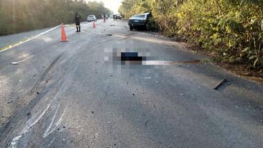 Mortal accidente en la vía Cobá-Chemax