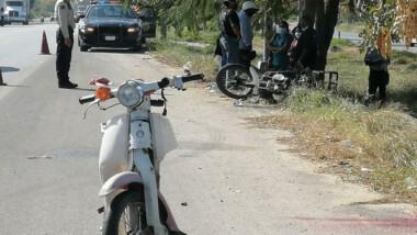 Chocan motociclistas en periférico