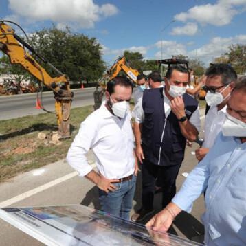 Inicia la construcción de puentes peatonales en el Anillo Periférico