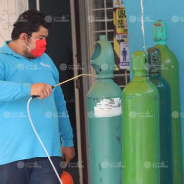 Recargas de oxígeno gratis en Mérida