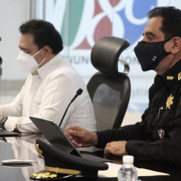 En Yucatán delitos no quedan impunes: FGE y SSP