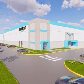 Así será el nuevo centro logístico de Amazon en Umán