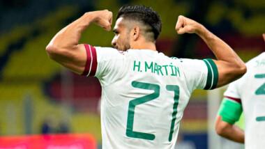 Henry Martín será titular con México ante Gales