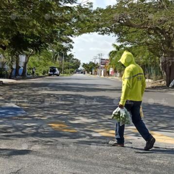 Chocholá registra 42.5 °C, Mérida 40.4 °C.