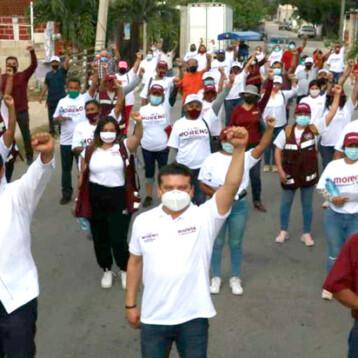 Volveremos a hacer historia en Kanasín:  Carlos Moreno