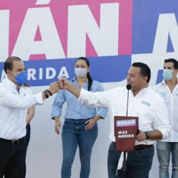 """El PAN no quiere que el """"morenavirus"""" llegue a Mérida"""