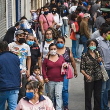 Suman 213,597 muertes por coronavirus en México