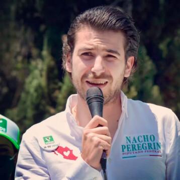 """En política """"sí pesa ser hermano de Belinda"""", asegura Ignacio Peregrin"""