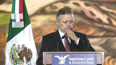 """""""La Corte decidirá"""": ministro Arturo Zaldívar"""