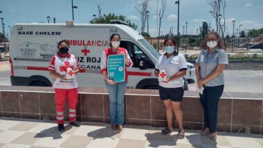 Se suman comisarías de Progreso a la Colecta Nacional de la Cruz Roja Mexicana