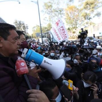 """""""Los vamos a hallar"""": Félix Salgado lanza esta amenaza al INE; Segob reacciona"""