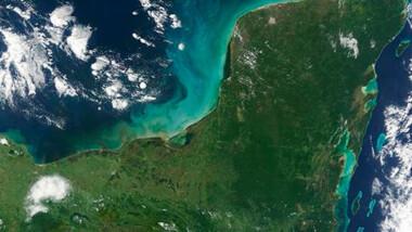 """""""Anormalmente seco"""", el 10% de la península de Yucatán"""